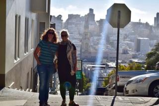 Charlene and Triin in San Francisco